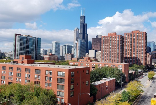 Real Estate Photography - 1133 S. State, #703, Chicago, IL, 60605 - City View