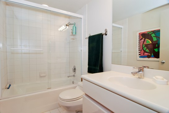 Real Estate Photography - 2037 N Magnolia Ave, Chicago, IL, 60614 - Bathroom