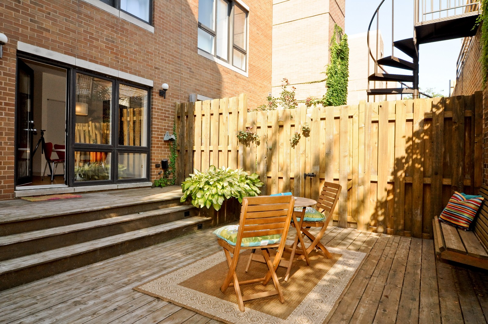 Real Estate Photography - 1943 N Maud, Chicago, IL, 60614 - Patio