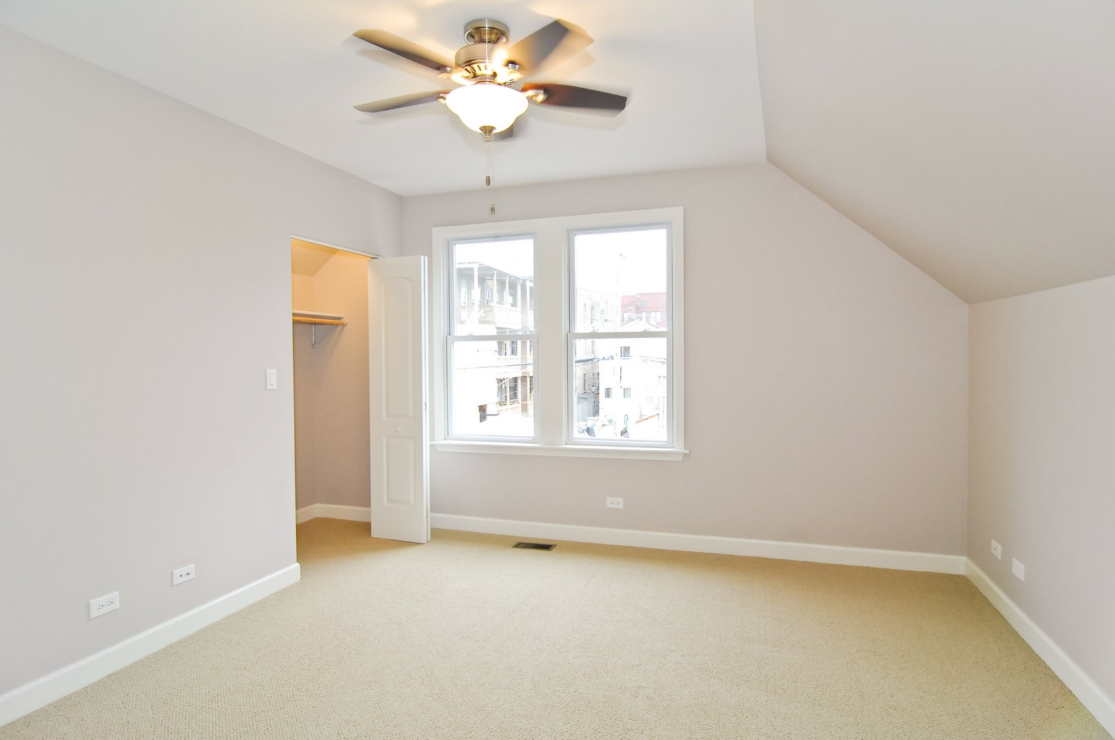 Real Estate Photography - 2946 N Troy, Chicago, IL, 60618 - Master Bedroom