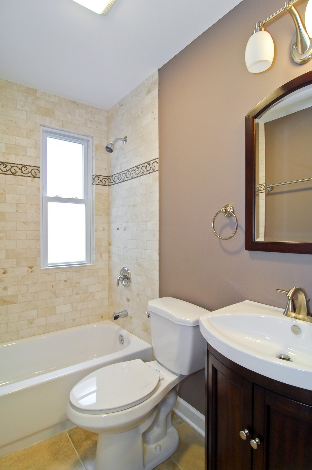 Real Estate Photography - 2946 N Troy, Chicago, IL, 60618 - Bathroom