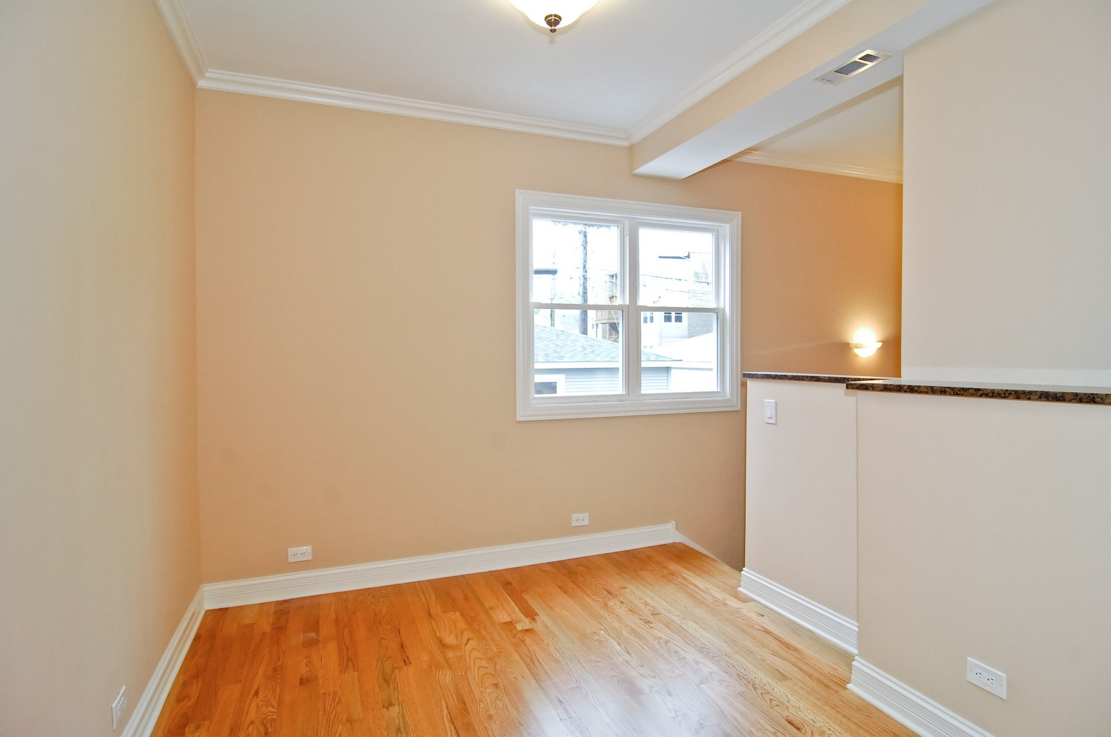 Real Estate Photography - 3743 W Wrightwood, Chicago, IL, 60647 - Den