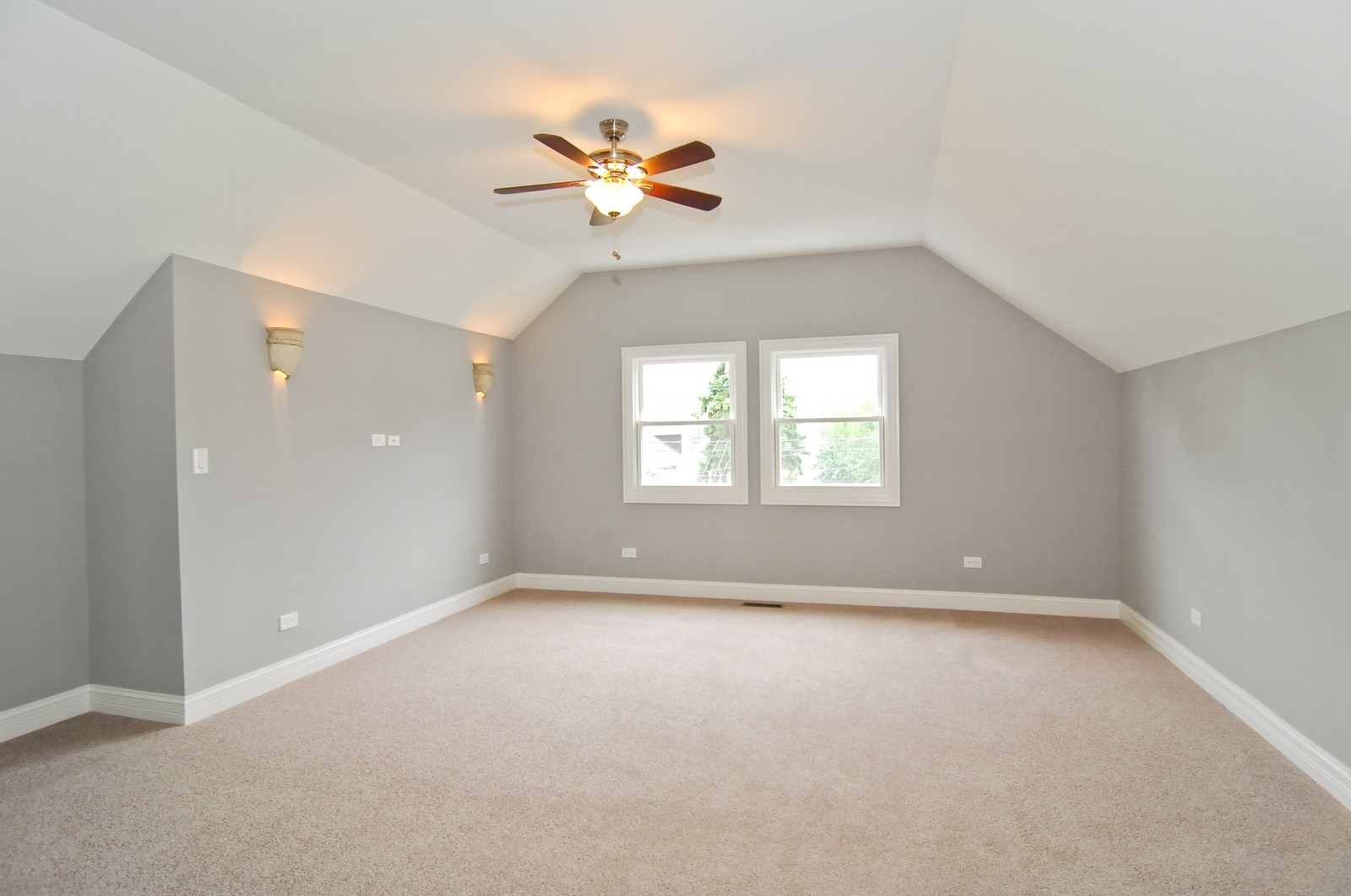 Real Estate Photography - 3743 W Wrightwood, Chicago, IL, 60647 - Master Bedroom