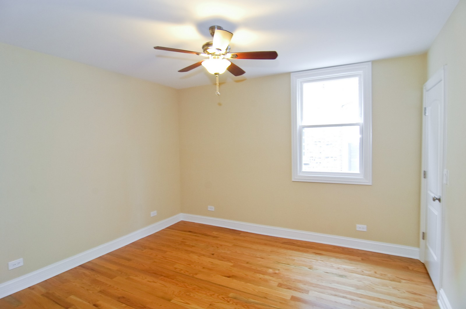 Real Estate Photography - 3743 W Wrightwood, Chicago, IL, 60647 - 2nd Bedroom