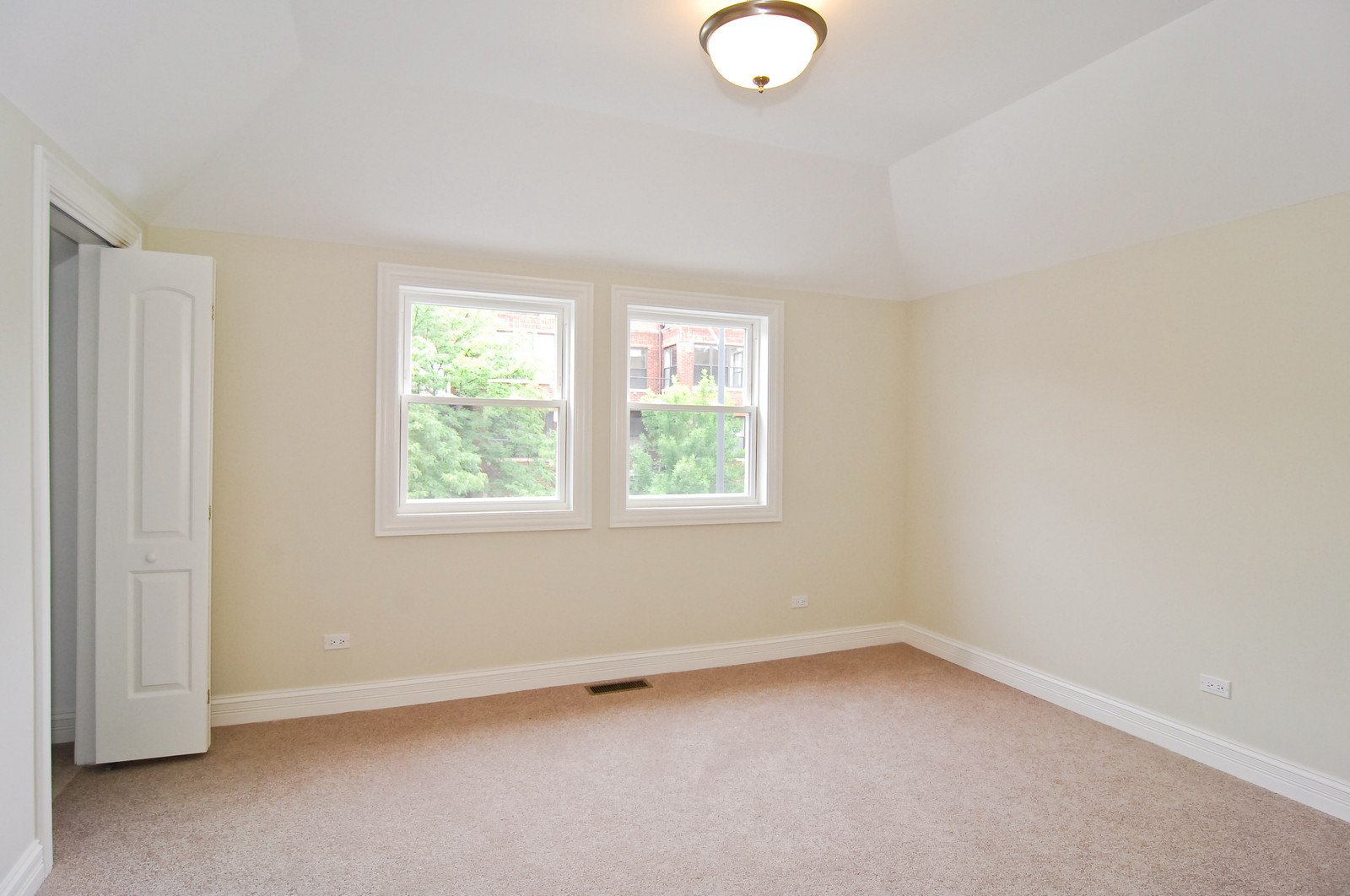 Real Estate Photography - 3743 W Wrightwood, Chicago, IL, 60647 - 3rd Bedroom