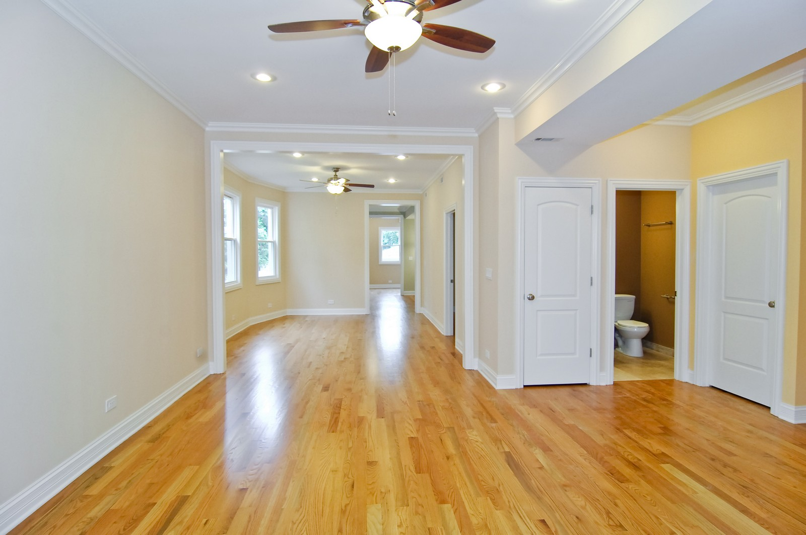 Real Estate Photography - 3743 W Wrightwood, Chicago, IL, 60647 - Living Room