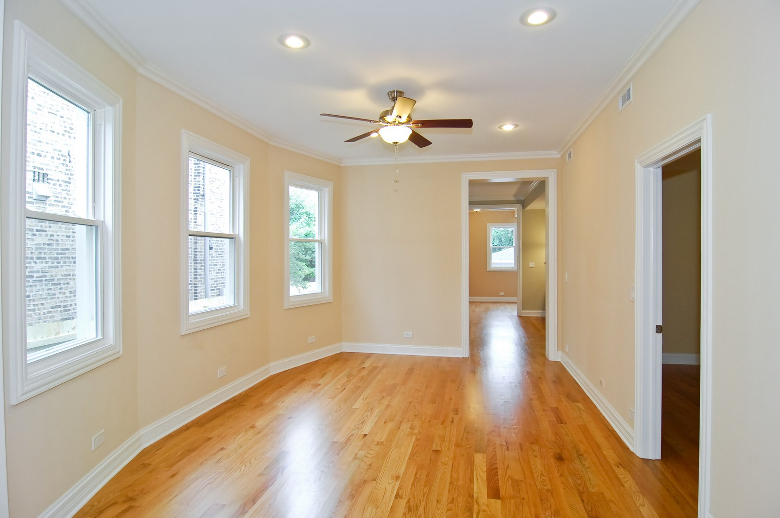 Real Estate Photography - 3743 W Wrightwood, Chicago, IL, 60647 - Dining Room