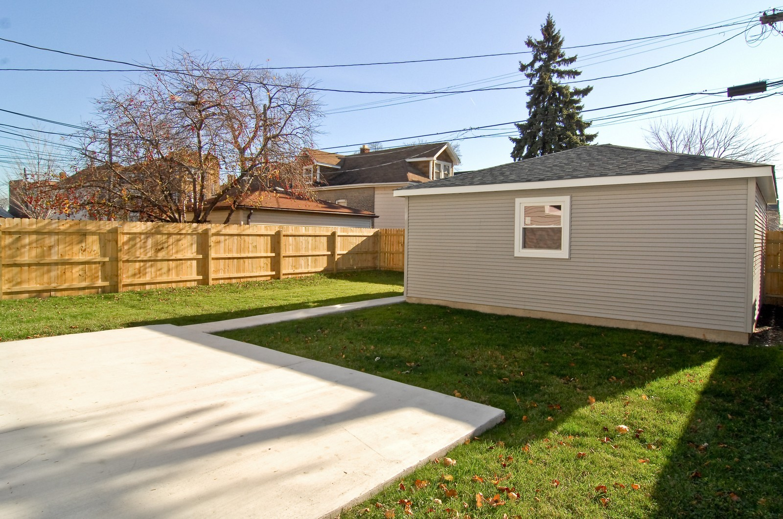 Real Estate Photography - 3743 W Wrightwood, Chicago, IL, 60647 - Back Yard