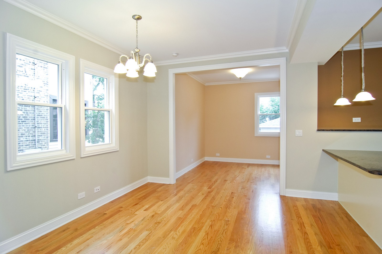 Real Estate Photography - 3743 W Wrightwood, Chicago, IL, 60647 - Family Room