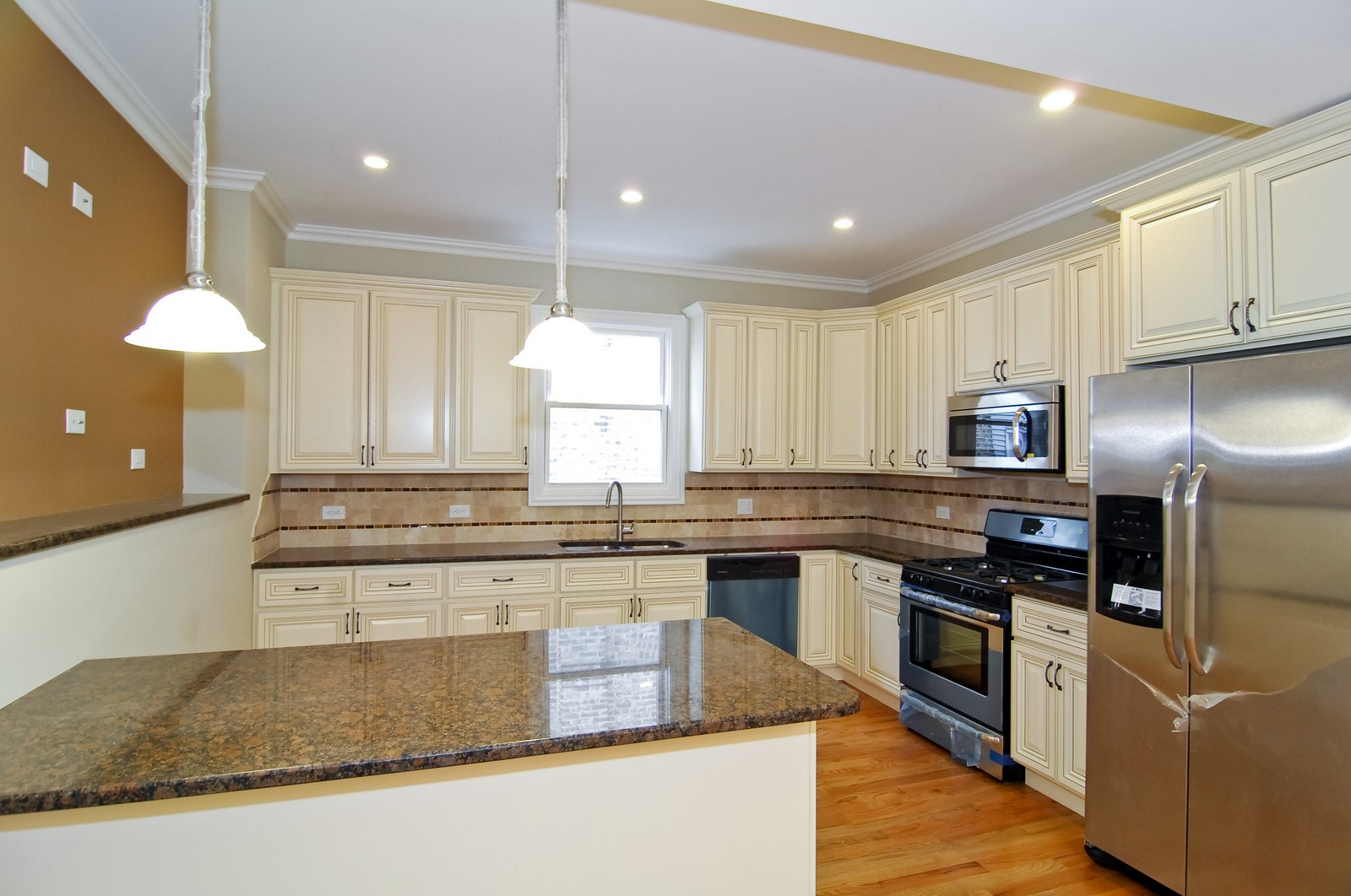 Real Estate Photography - 3743 W Wrightwood, Chicago, IL, 60647 - Kitchen