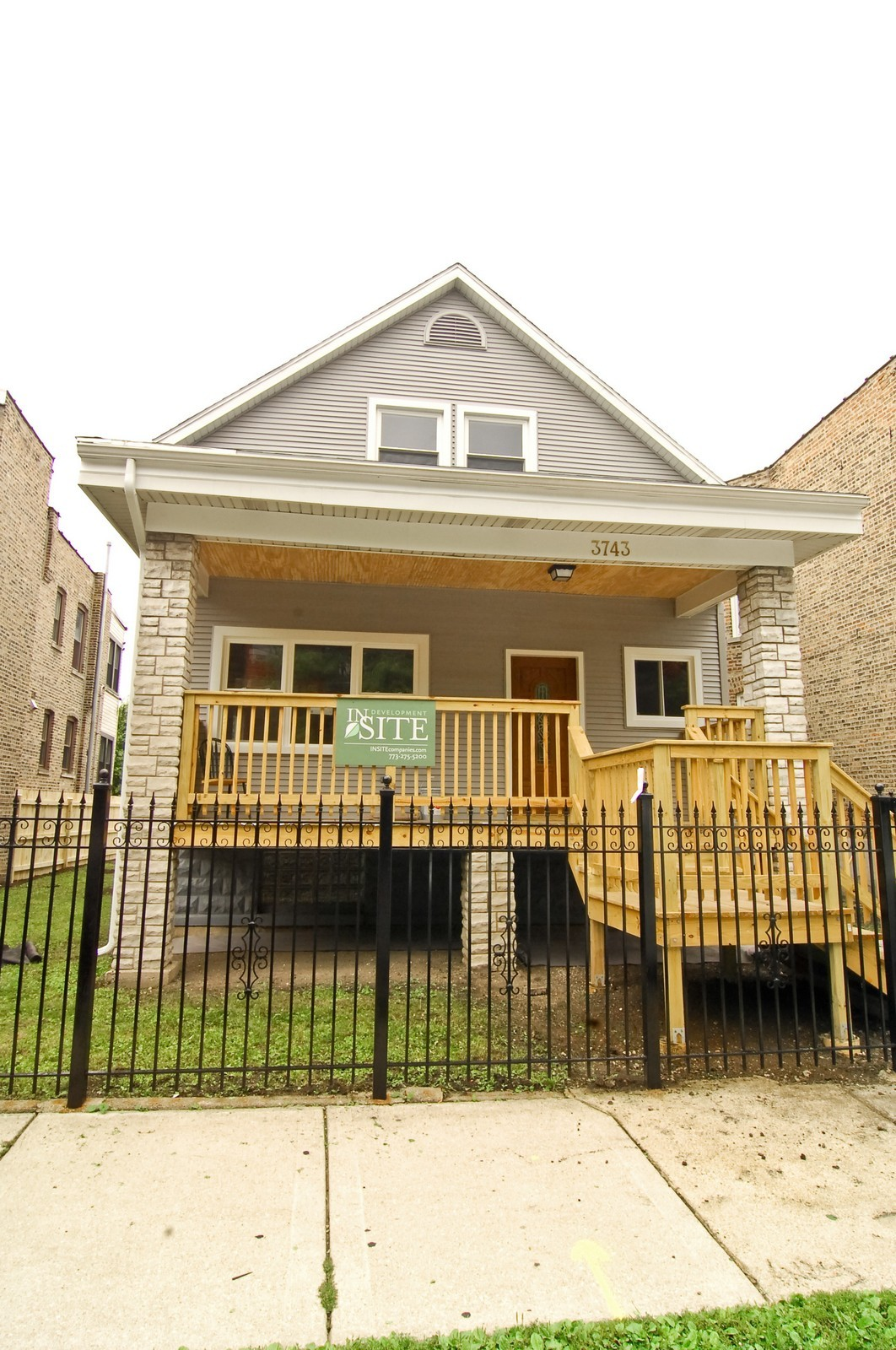 Real Estate Photography - 3743 W Wrightwood, Chicago, IL, 60647 - Front View