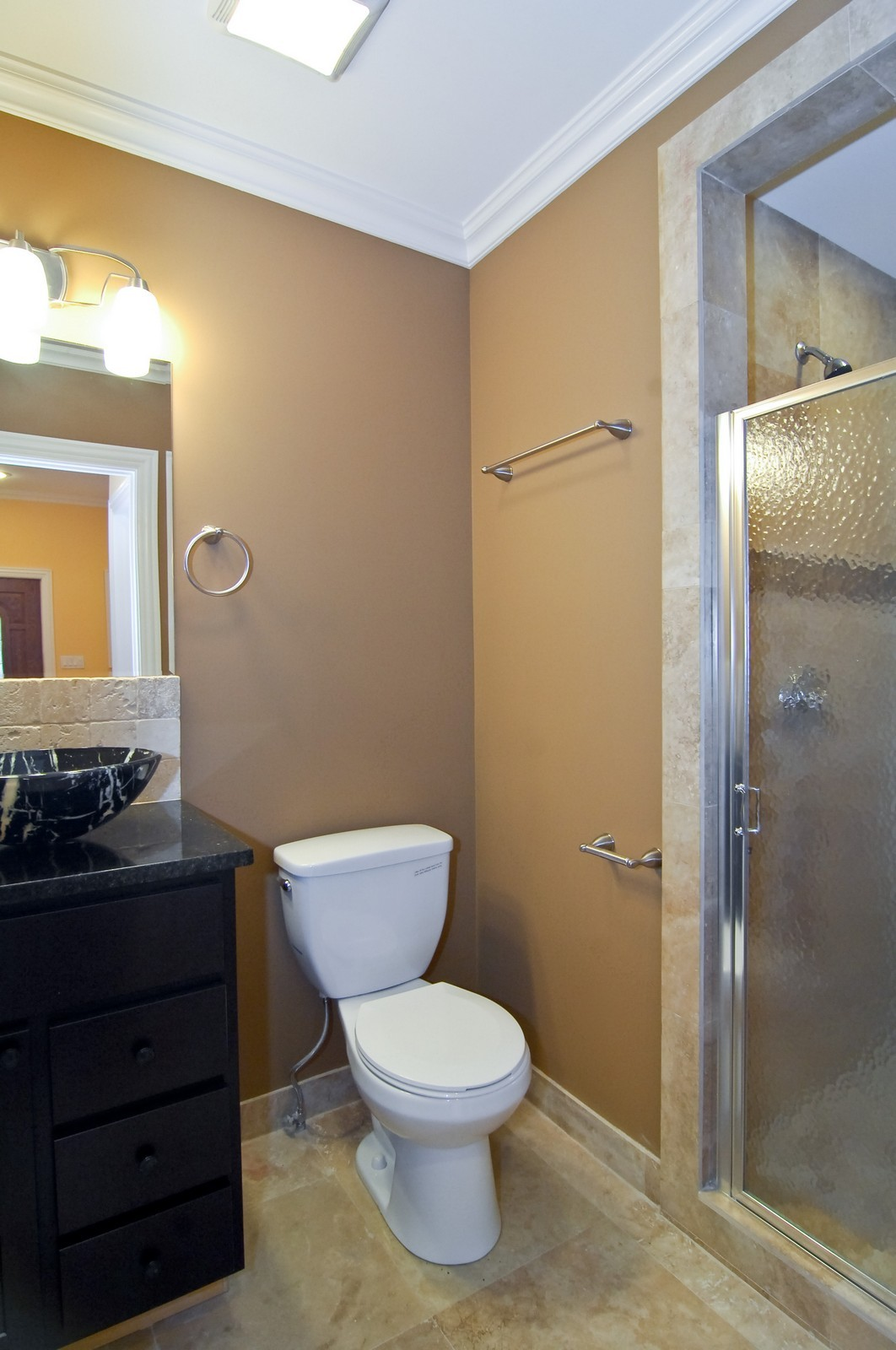 Real Estate Photography - 3743 W Wrightwood, Chicago, IL, 60647 - Bathroom
