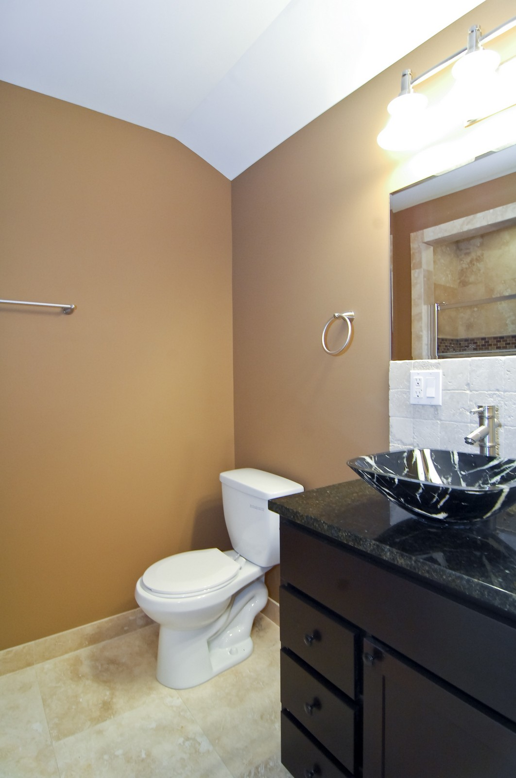 Real Estate Photography - 3743 W Wrightwood, Chicago, IL, 60647 - 2nd Bathroom