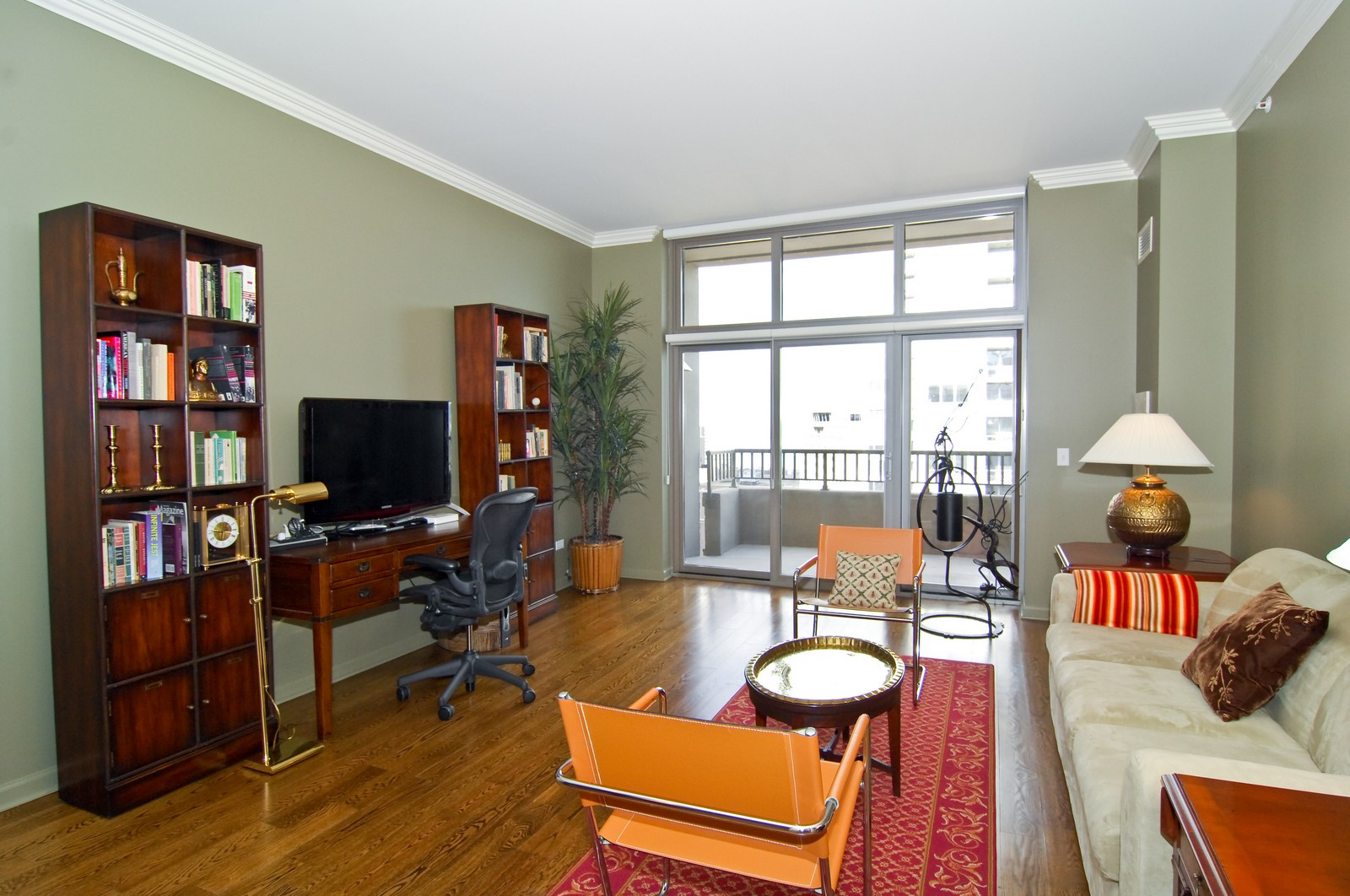 Real Estate Photography - 530 N Lake Shore Dr, Unit 2902, Chicago, IL, 60611 - Living Room