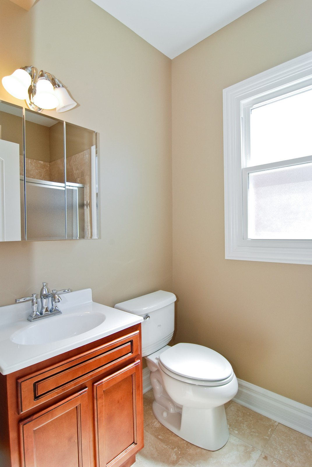 Real Estate Photography - 4334 N. Central Park, Chicago, IL, 60618 - Master Bathroom