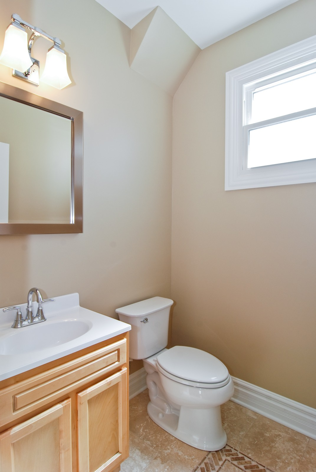 Real Estate Photography - 4334 N. Central Park, Chicago, IL, 60618 - Half Bath