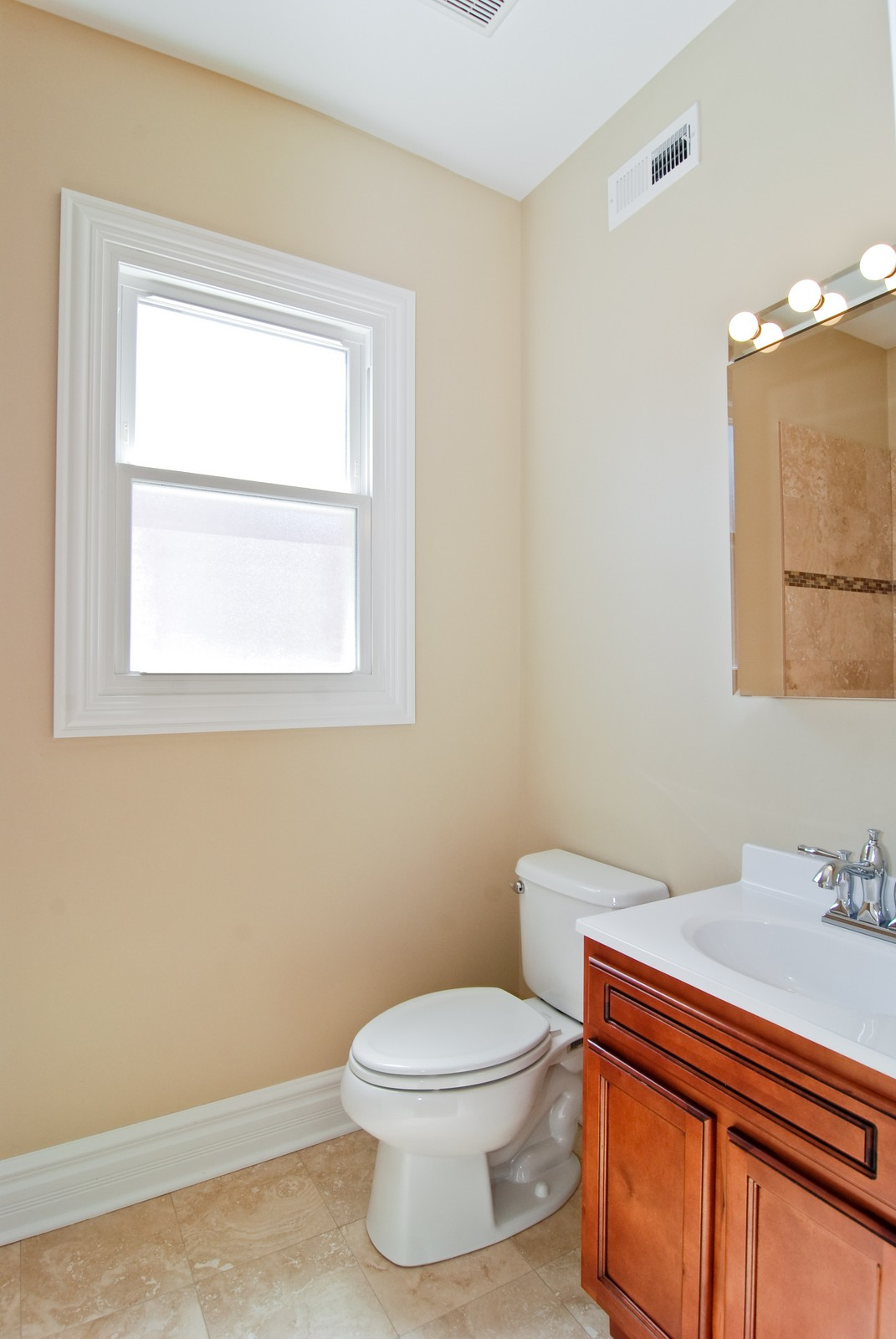 Real Estate Photography - 4334 N. Central Park, Chicago, IL, 60618 - Bathroom