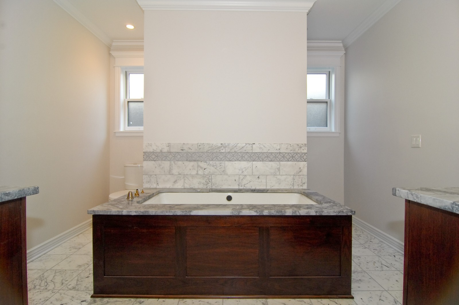 Real Estate Photography - 1845 W. Newport, Chicago, IL, 60657 - Master Bathroom