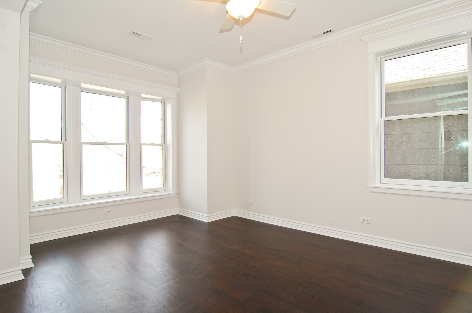 Real Estate Photography - 1845 W. Newport, Chicago, IL, 60657 - 2nd Bedroom
