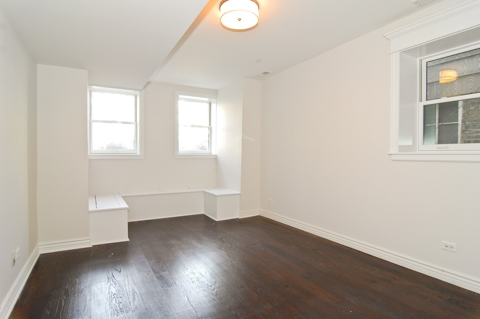 Real Estate Photography - 1845 W. Newport, Chicago, IL, 60657 - 3rd Bedroom