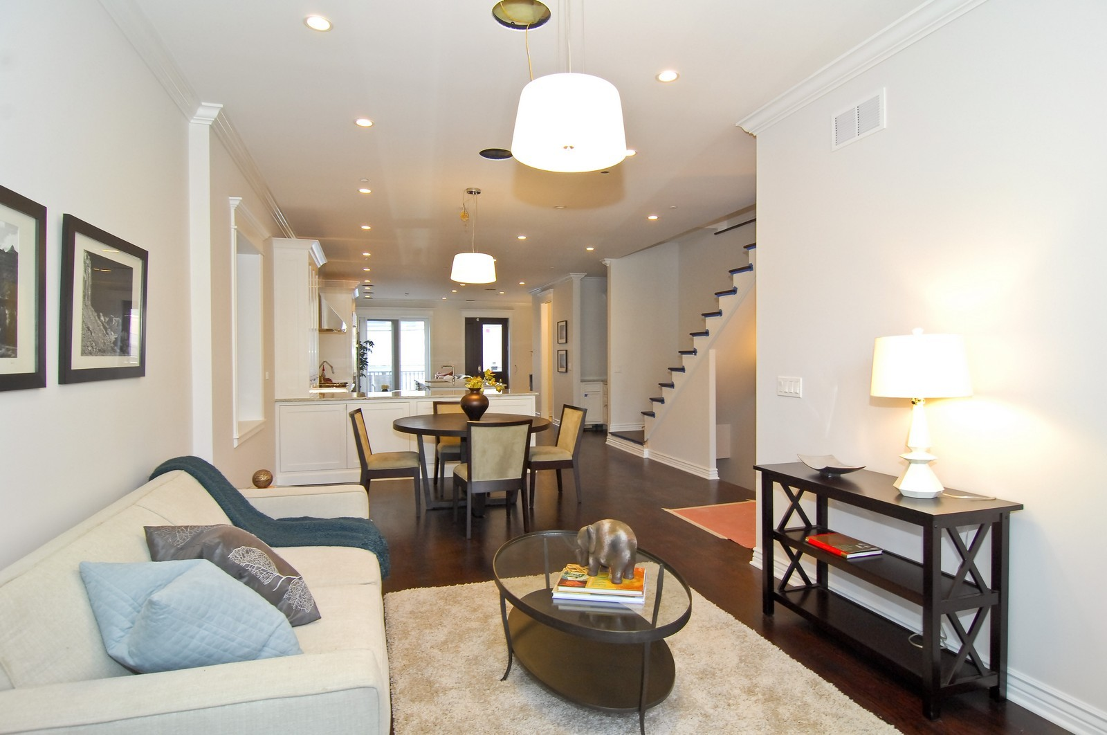 Real Estate Photography - 1845 W. Newport, Chicago, IL, 60657 - Living Room