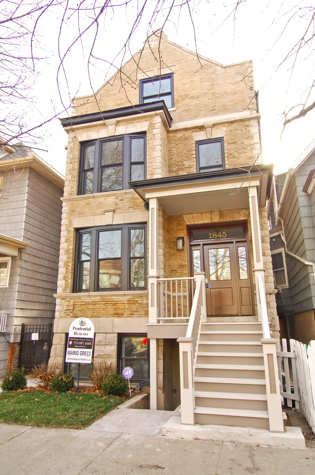 Real Estate Photography - 1845 W. Newport, Chicago, IL, 60657 - Front View