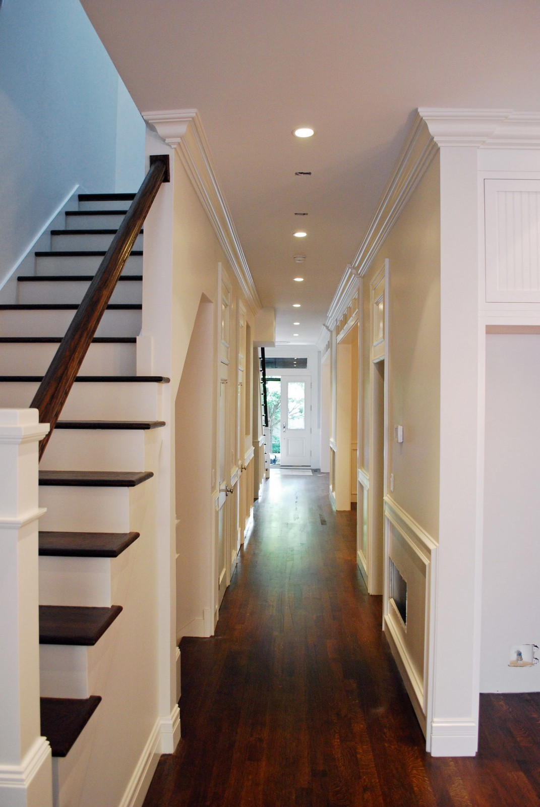 Real Estate Photography - 1845 W. Newport, Chicago, IL, 60657 - Staircase