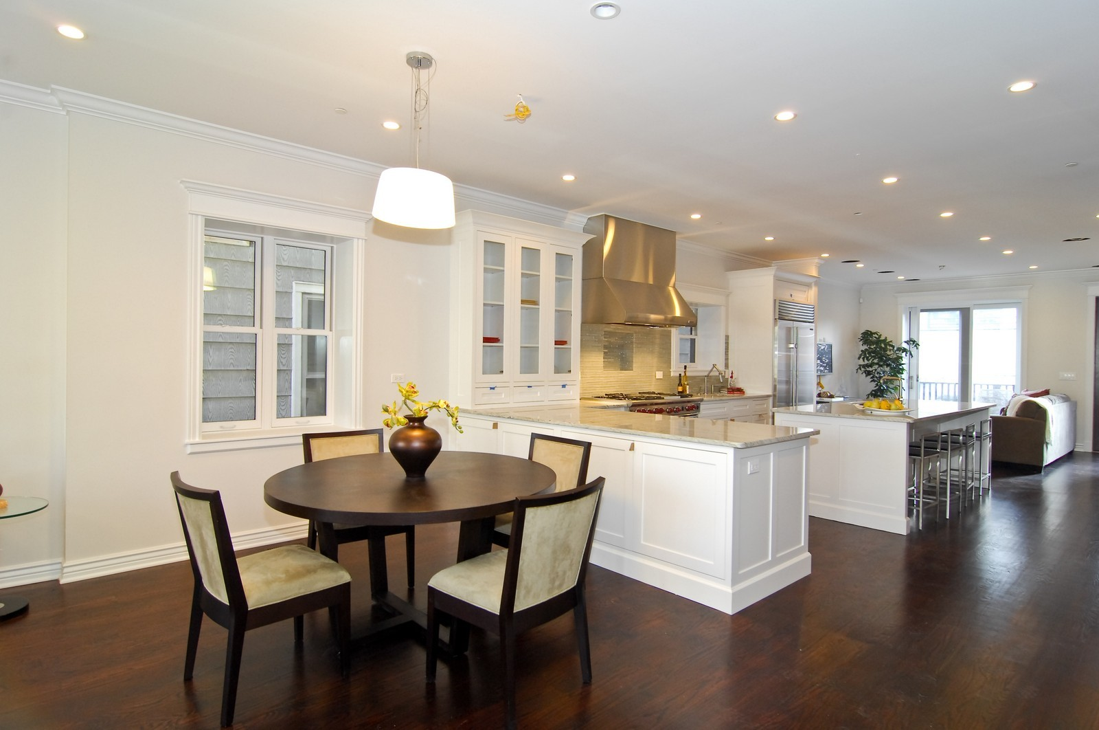 Real Estate Photography - 1845 W. Newport, Chicago, IL, 60657 - Kitchen / Dining Room