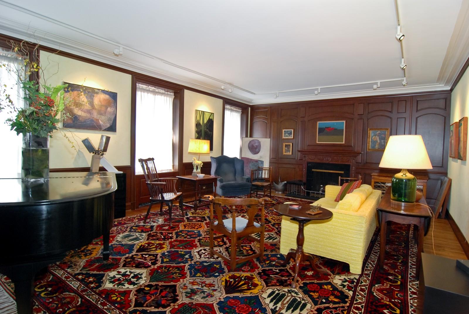Real Estate Photography - 232 E. Walton, Unit 6E, Chicago, IL, 60611 - Living Room