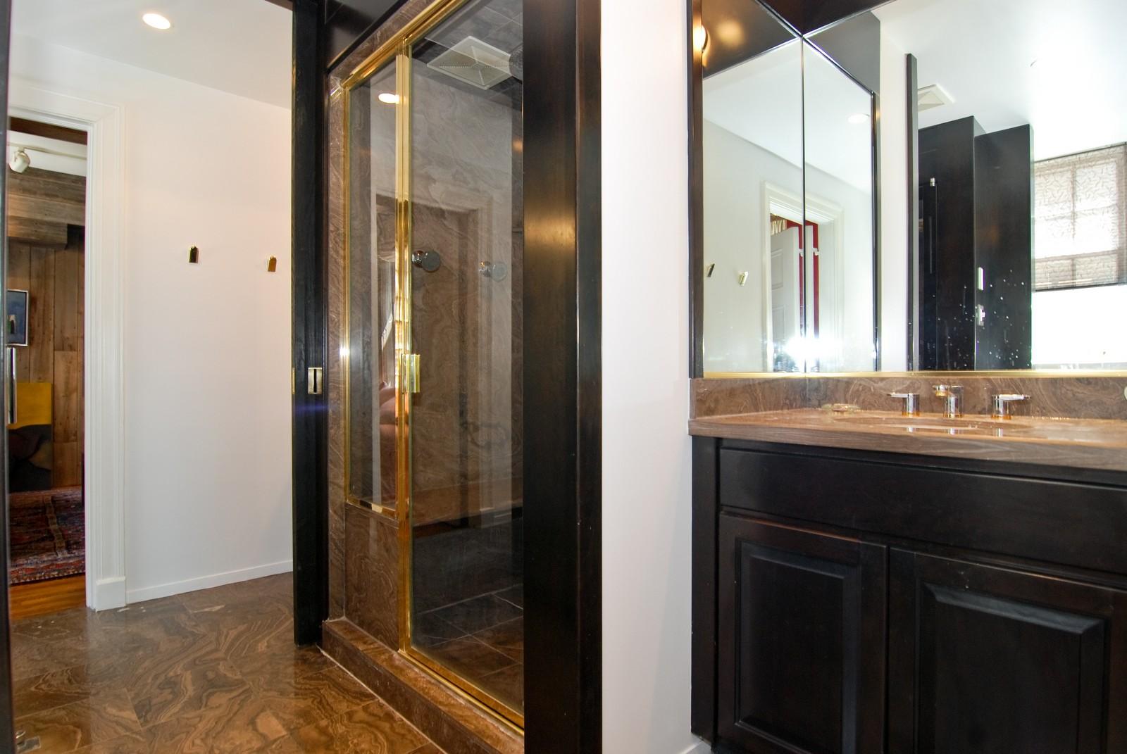 Real Estate Photography - 232 E. Walton, Unit 6E, Chicago, IL, 60611 - Master Bathroom