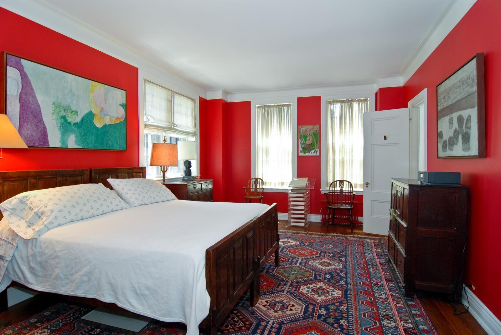 Real Estate Photography - 232 E. Walton, Unit 6E, Chicago, IL, 60611 - Master Bedroom