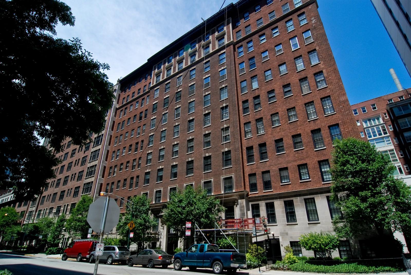 Real Estate Photography - 232 E. Walton, Unit 6E, Chicago, IL, 60611 - Front View