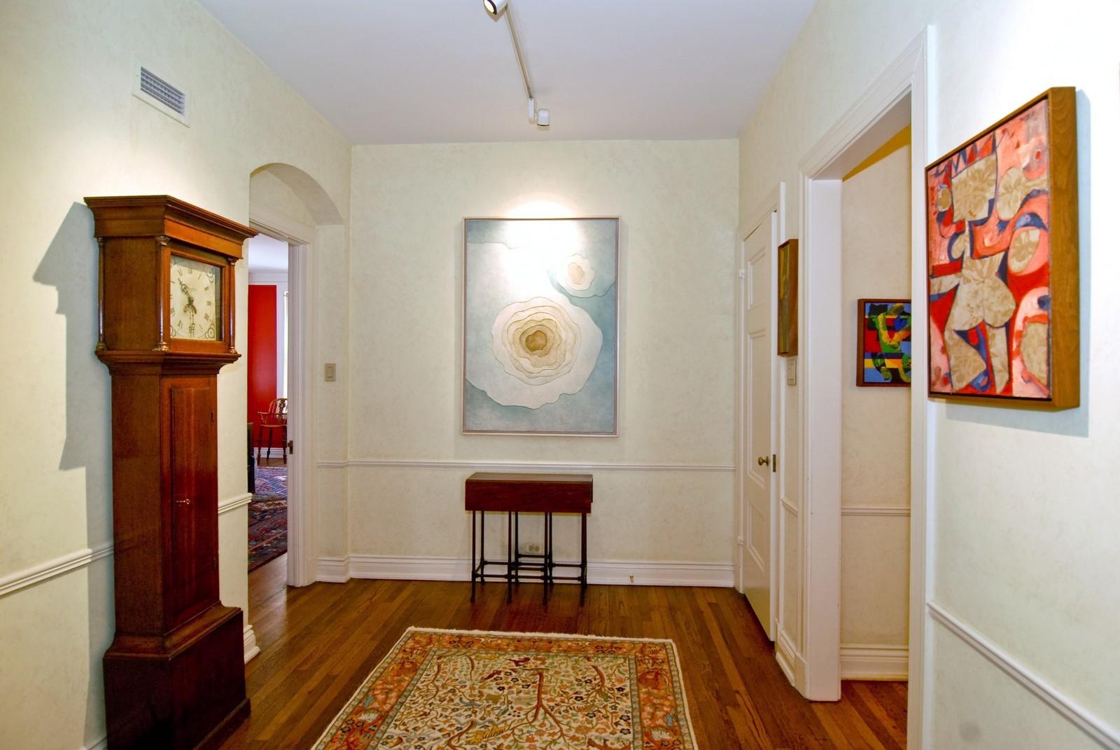 Real Estate Photography - 232 E. Walton, Unit 6E, Chicago, IL, 60611 - Hallway