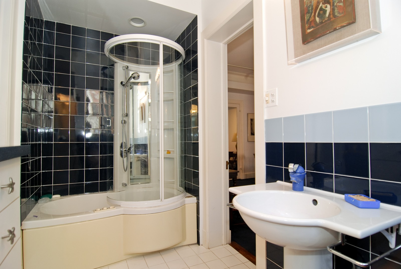 Real Estate Photography - 232 E. Walton, Unit 6E, Chicago, IL, 60611 - Bathroom