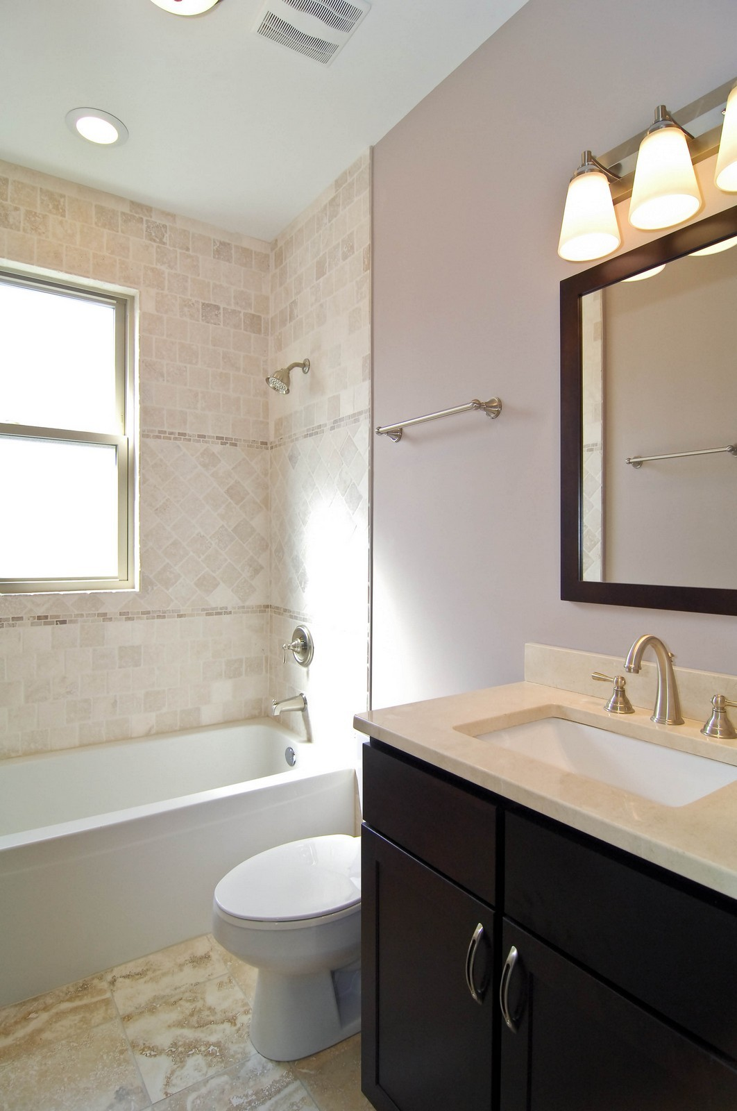 Real Estate Photography - 4306 N. Richmond, Chicago, IL, 60618 - 3rd Bathroom