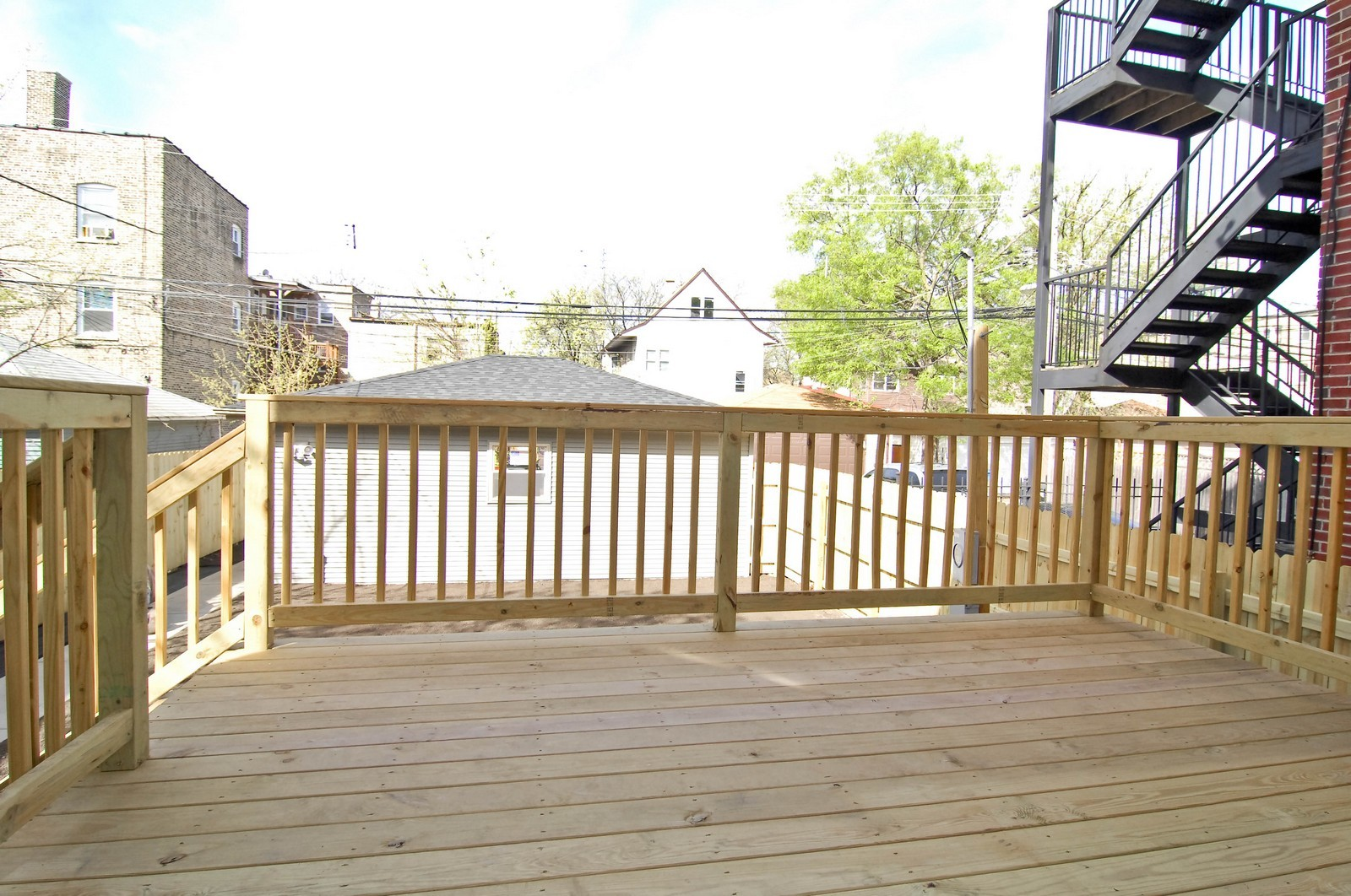 Real Estate Photography - 4306 N. Richmond, Chicago, IL, 60618 - Deck