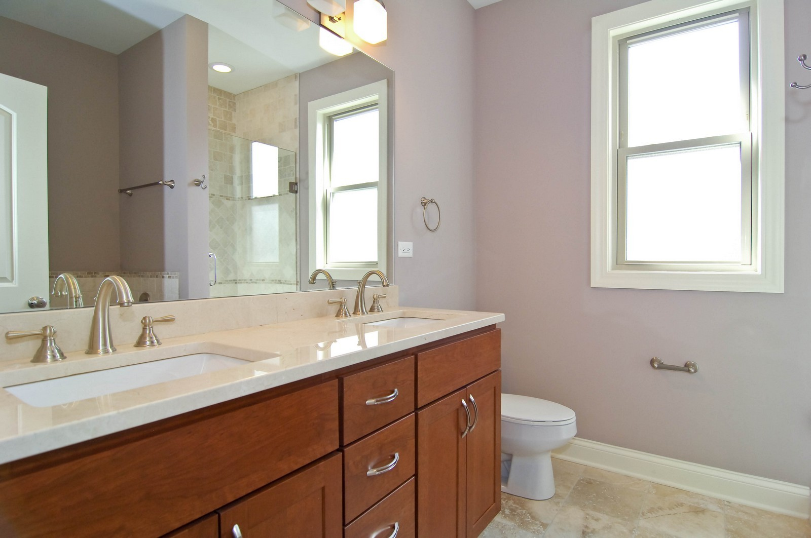 Real Estate Photography - 4306 N. Richmond, Chicago, IL, 60618 - Master Bathroom