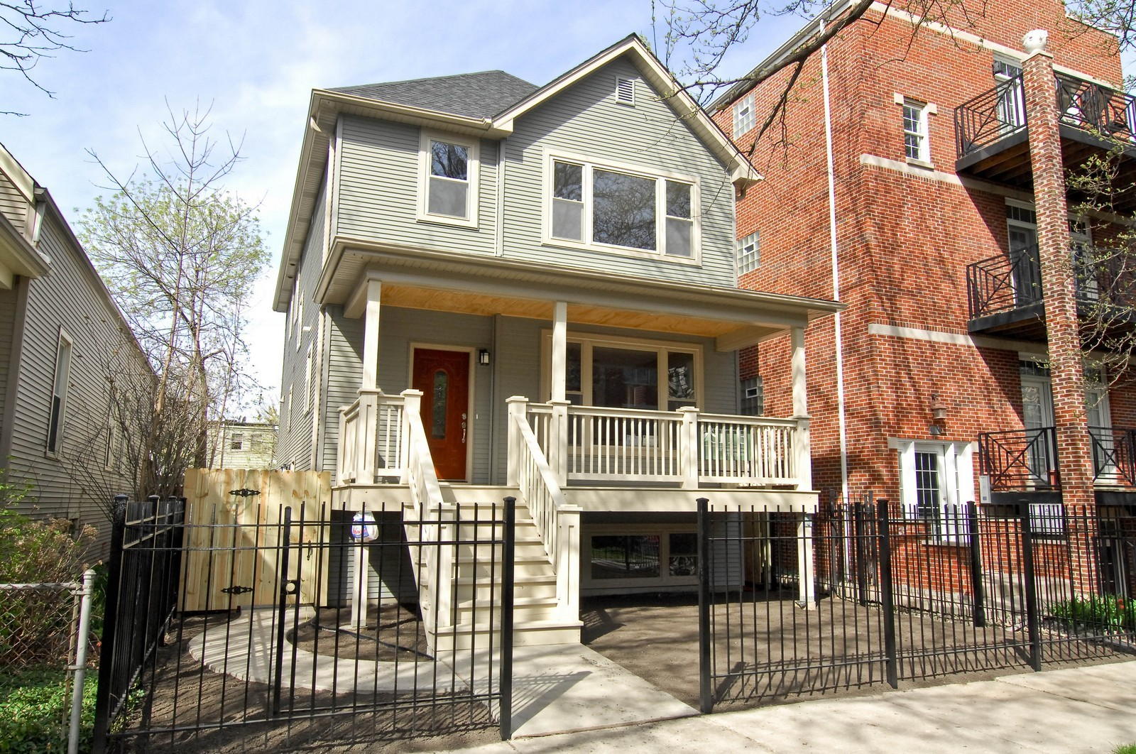 Real Estate Photography - 4306 N. Richmond, Chicago, IL, 60618 - Front View