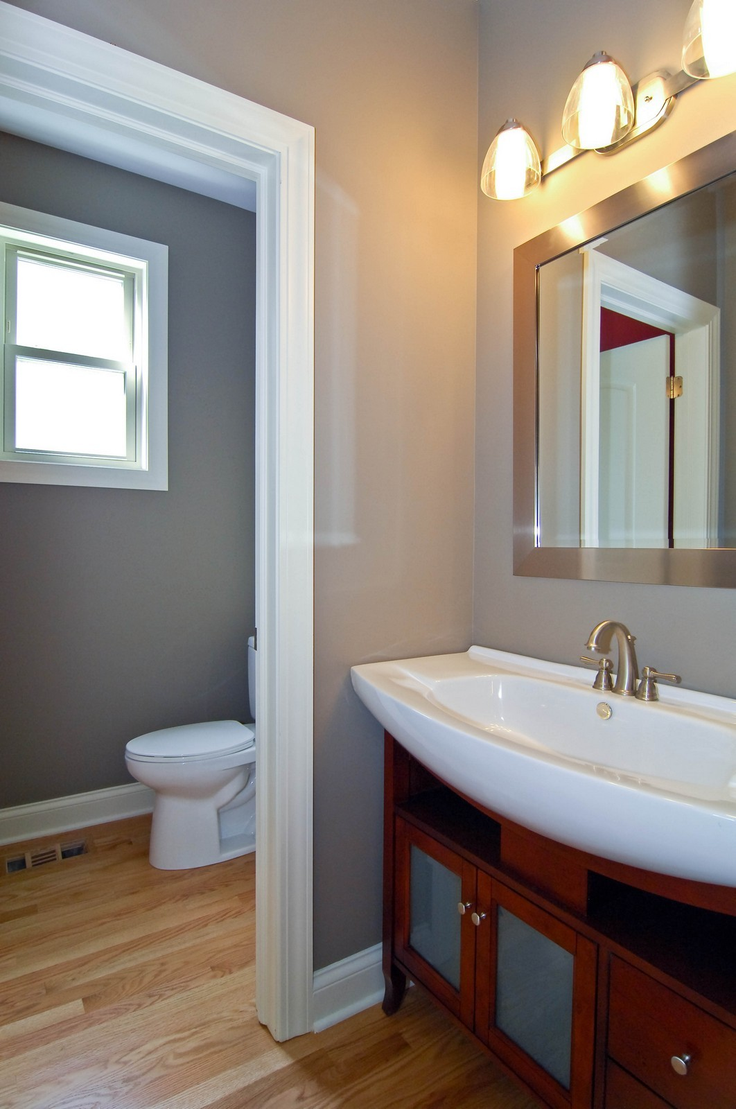 Real Estate Photography - 4306 N. Richmond, Chicago, IL, 60618 - Half Bath