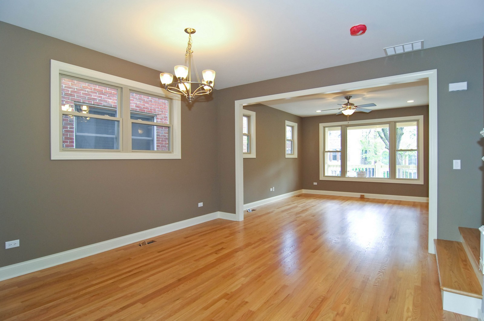 Real Estate Photography - 4306 N. Richmond, Chicago, IL, 60618 - Living Room / Dining Room