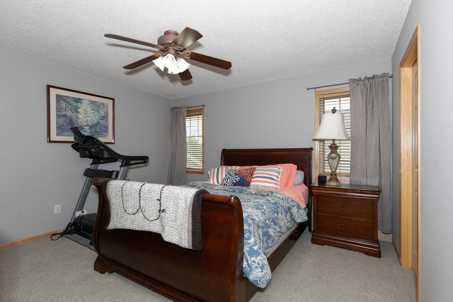 Real Estate Photography - 2411 119th Ct NE, #B, Blaine, MN, 55449 - Master Bedroom