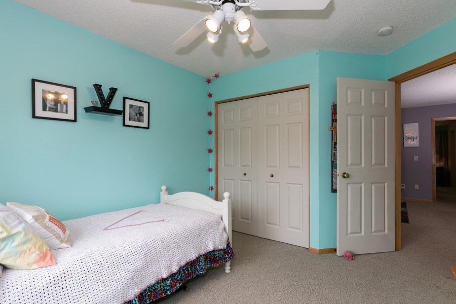 Real Estate Photography - 2411 119th Ct NE, #B, Blaine, MN, 55449 - 2nd Bedroom