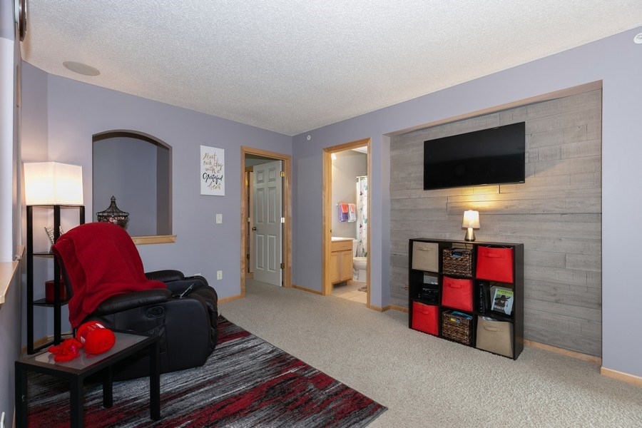 Real Estate Photography - 2411 119th Ct NE, #B, Blaine, MN, 55449 - Sitting Room