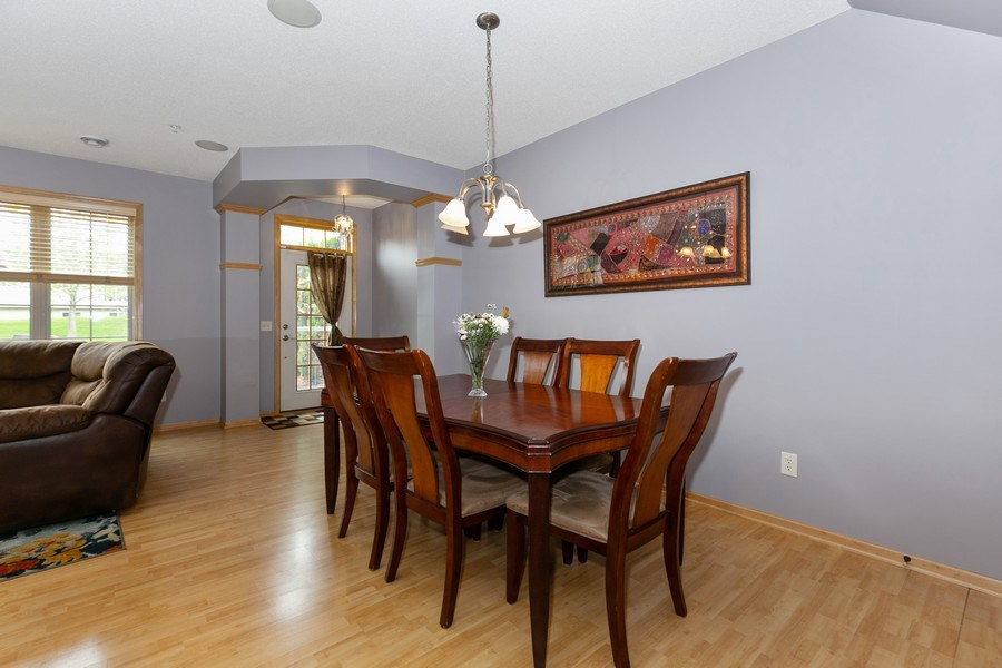 Real Estate Photography - 2411 119th Ct NE, #B, Blaine, MN, 55449 - Dining Area 2