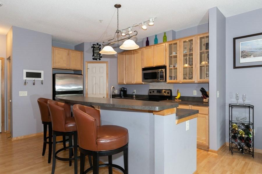 Real Estate Photography - 2411 119th Ct NE, #B, Blaine, MN, 55449 - Kitchen