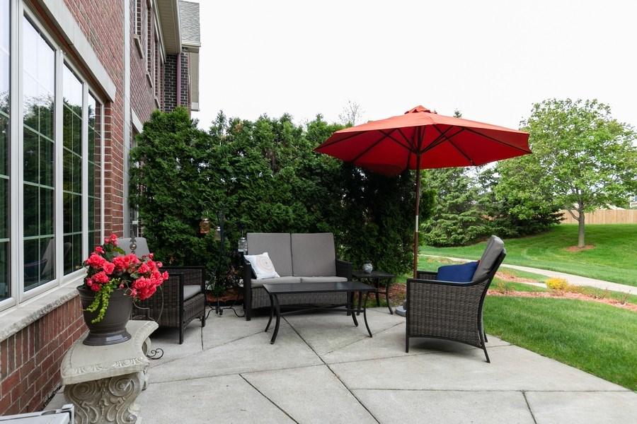 Real Estate Photography - 2411 119th Ct NE, #B, Blaine, MN, 55449 - Patio