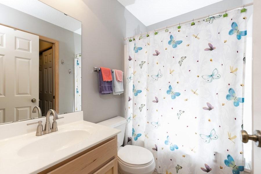 Real Estate Photography - 2411 119th Ct NE, #B, Blaine, MN, 55449 - 2nd Bathroom