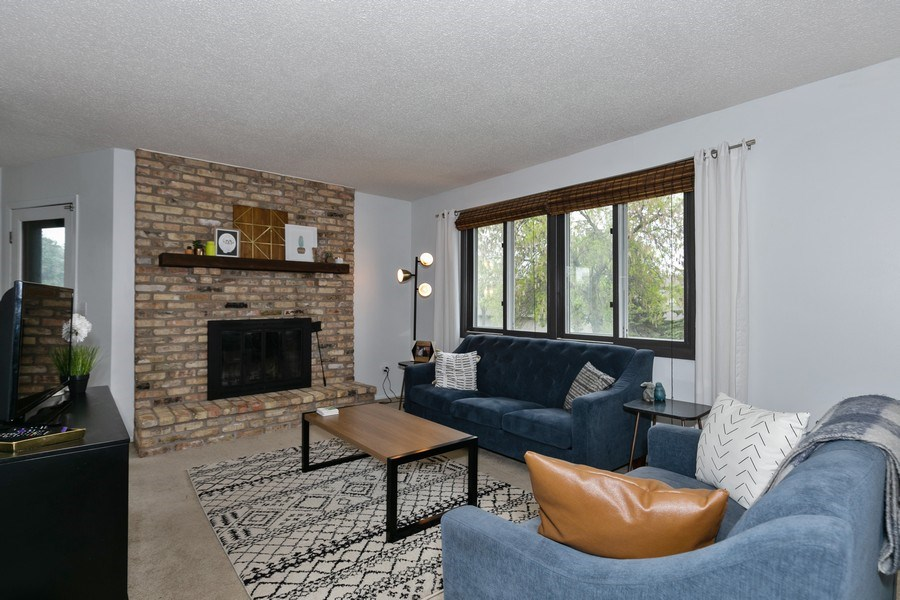 Real Estate Photography - 1503 128th Lane NE, Blaine, MN, 55449 - Living Room