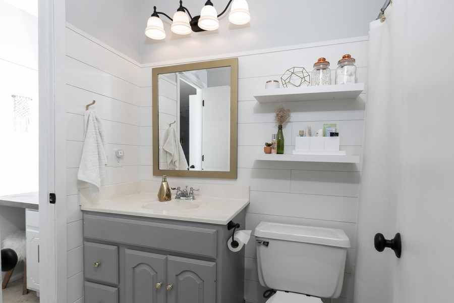 Real Estate Photography - 1503 128th Lane NE, Blaine, MN, 55449 - Master Bathroom