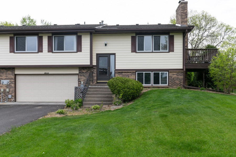 Real Estate Photography - 1503 128th Lane NE, Blaine, MN, 55449 - Front View